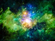 Inner Life of Nebula Stock Images