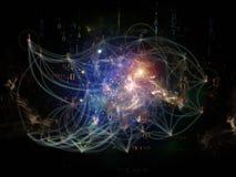 Inner Life of Network Stock Photo