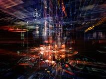 Inner Life of Technology Stock Image