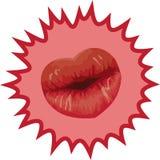 Inner-Lippen Stockfoto