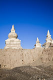 Inner Mongolia, Alxa Liga, EJINAQI, schwarze Stadt stockfotografie
