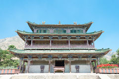 INNER MONGOLIA, CHINA - Aug 14 2015: Meidai Lamasery (Meidai Zha Stock Photo