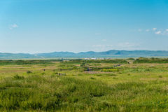 INNER MONGOLIA, CHINA - Aug 10 2015: Site of Xanadu (World Herit Royalty Free Stock Images