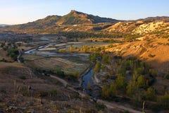 Inner Mongolia hills. In Inner Mongolia, mountains, vast land, beautiful nature Stock Photography