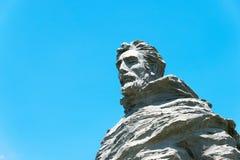 INNER MONGOLIA KINA - Augusti 10 2015: Marco Polo Statue på Kublai Royaltyfria Bilder
