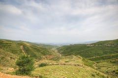 Inner mongolia: mountain landscape Stock Photos