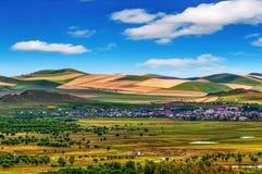 Inner Mongolia prairie landscape image Royalty Free Stock Photos