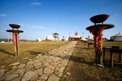 Inner Mongolia Yurt Imagenes de archivo