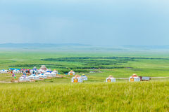 Inner Mongolia Yurt Stock Photos