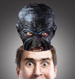Inner monster. Concept Royalty Free Stock Photo