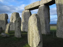 Inner and Outer Circles at Stonehenge. A view of the inner and outer circles at Stonehenge Royalty Free Stock Photos