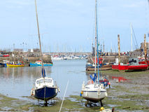Inner and outer Harbour, Brixham, Devon. Stock Image