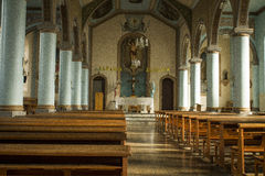 Inner part of a church in Capitólio Royalty Free Stock Photos