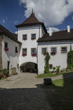 Inner part of Landstejn castle in Czech Republic Royalty Free Stock Photos