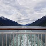 Cruise Ship wake Royalty Free Stock Photo