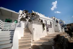 Inner quarters known by tourists, Naoussa, Paros in the Cyclades. Inner quarters little known by tourists, Naoussa, Paros in the Cyclades stock photos