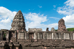 The inner sanctuary of Prasat Hin Phimai, ancient Khmer temple complex or landmark. In Nakhon Ratchasima province, Thailand Royalty Free Stock Photography