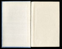 Inner side of a book cover. With end-pages Royalty Free Stock Photography