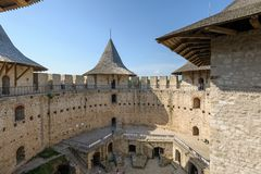 Free Inner Space Of Medieval Fortress In Soroca, Republic Of Moldova Stock Image - 152715651