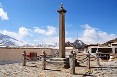 Inner Stele of Potala Palace Royalty Free Stock Images