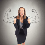 Inner strength Royalty Free Stock Photo
