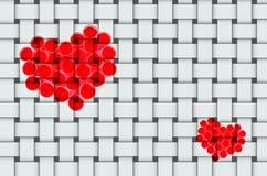 Inner-Symbol für Valentinstag lizenzfreie abbildung