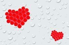 Inner-Symbol für Valentinstag lizenzfreie stockfotografie