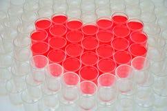 Inner-Symbol für Valentinstag stockfotos