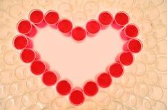 Inner-Symbol für Valentinstag lizenzfreies stockfoto