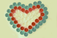 Inner-Symbol für Valentinstag stockfotografie