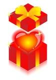 Inner- und Geschenkkästen Lizenzfreie Stockbilder