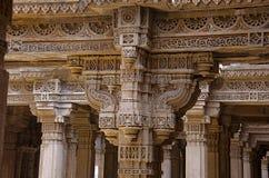 Inner view of Adalaj Ni Vav Stepwell or Rudabai Stepwell. Built in 1498 by Rana Veer Singh is five stories deep. Ahmedabad, Guja. Inner view of Adalaj Ni Vav royalty free stock images