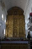 Inner view of Cathedral of St. Catherine of Alexan. Dria. Old Goa, India Royalty Free Stock Photography