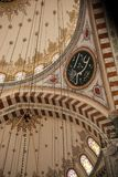 Inner view of dome in Ottoman architecture. In, Istanbul, Turkey royalty free stock photography