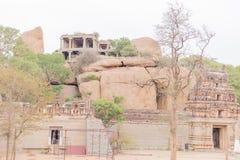 Inner View of Malyavanta Raghunatha Temple, Hampi, Karnataka. Inner View of Malyavanta Raghunatha Temple, Hampi , Karnataka royalty free stock images