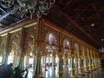 Inner view of Mysore Palace