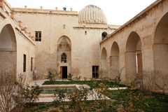 The inner yard of the old madrasah Royalty Free Stock Image