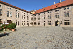 Inner yard of the Residence in Munich, Germany Stock Photo