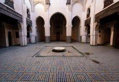 Inner Yard Riad, Morocco Stock Photography