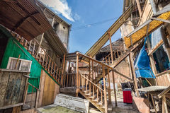 Inner yard Tbilisi Royalty Free Stock Photography