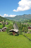 Inneralpbach, valle di Alpbach, Tirolo, Austria Fotografia Stock