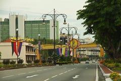 Innercity of Bandar Seri Begawan, Brunei Stock Photography