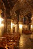 Innere Aachen-Kathedrale Stockbild
