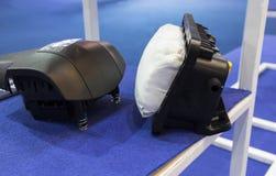 Innere Airbagteile für Fahrzeug Stockfoto
