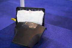 Innere Airbagteile für Fahrzeug Stockfotografie