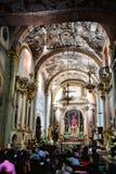 Innere Atotonilco-Kapelle Stockbilder