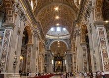 Innere Basilika Str stockfotos