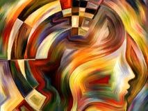 Innere begrifflichgeometrie Stockbild
