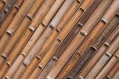 Innere Beschaffenheit des Bambushintergrundes stockfotografie