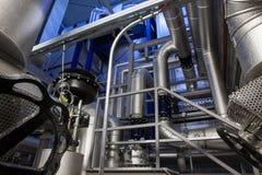 Innere Co-ErzeugungsTriebwerkanlage Lizenzfreie Stockfotografie